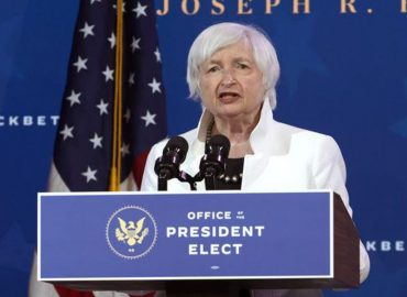 US markets edge higher, as Yellen calls for more fiscal stimulus