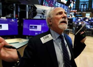 US markets edge close to all-time highs