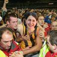 Sydney residents storm Gladys Berejiklian's office in celebration of 1,000 case milestone